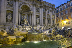 Fontana di Trevi in Rome Royalty Free Stock Photo