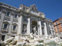 Italy, Rome. Fontana di trevi. Rome italy stock image