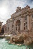 Fontana di Trevi, Rome, Italy. Stock Photo