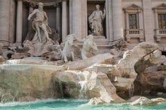 Fontana di Trevi, Rome, Italy. Royalty Free Stock Photos
