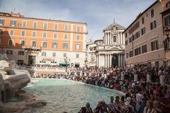 Fontana di Trevi, Rome, Italy. Stock Photography