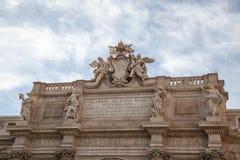 Fontana di Trevi, Rome, Italy. Royalty Free Stock Photo