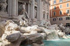 Fontana di Trevi, Rome, Italy. Stock Images