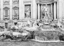 Fontana di Trevi in Rome Stock Photo