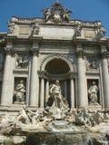Fontana di Trevi in Rome Stock Image