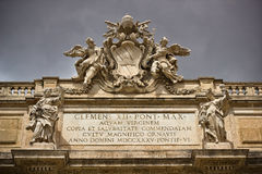 Fontana di Trevi in Rome Italy Stock Photo