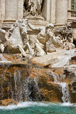 Fontana di Trevi in Rome Italy Royalty Free Stock Images