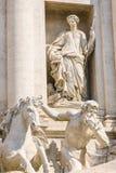 Fontana di Trevi, Rome, Italy Stock Photography