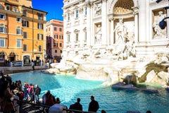 Fontana di Trevi Rome, Roma images stock