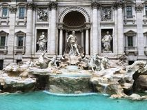 Fontana di Trevi, Rome stock photo