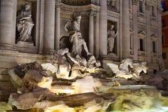 Fontana Di Trevi y x28; Trevi Fountain& x29; imagen de archivo