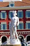 Fontana di Tritone, Nizza Fotografie Stock Libere da Diritti