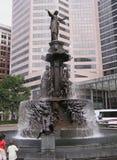 Fontana di Tyler Davidson Fotografia Stock Libera da Diritti