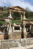 Fontana Ephesus di Traian Fotografia Stock