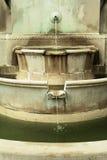 Fontana a file tre Fotografia Stock
