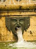 Fontana a Genova, Italia immagine stock