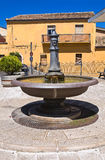 Fontana grande Pietragalla La Basilicata L'Italia Immagini Stock Libere da Diritti