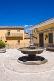 Fontana grande Pietragalla La Basilicata L'Italia Fotografia Stock