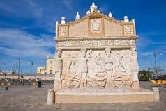 Fontana greca. Gallipoli. La Puglia. L'Italia. Fotografie Stock