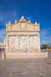 Fontana greca. Gallipoli. La Puglia. L'Italia. Immagine Stock