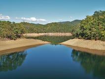 fontana jezioro Zdjęcia Royalty Free