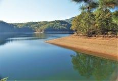 fontana jezioro Zdjęcie Royalty Free