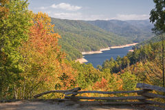 Fontana Lake in North Carolina Stock Images