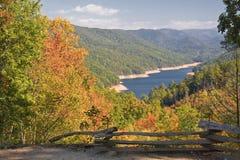 Fontana Lake in North Carolina Stock Images