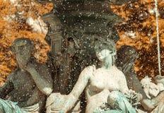 Fontana a Lisbona immagini stock libere da diritti