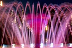 Fontana luminosa di estate immagine stock