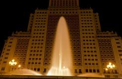 Fontana a Madrid immagini stock libere da diritti