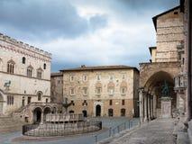 Fontana Maggiore Perugia Lizenzfreies Stockbild