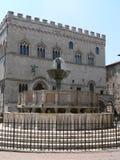 Fontana Maggiore, Perugia ( Italia ) Stock Photo