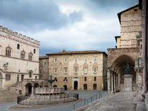 Fontana Maggiore Perugia Royalty Free Stock Image
