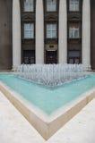 Fontana moderna Fotografie Stock