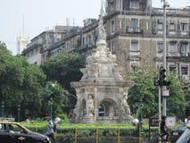 Fontana in Mumbai, India della flora Fotografie Stock Libere da Diritti