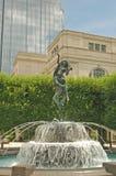 Fontana Nashville del centro Fotografia Stock