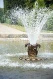 Fontana nei giardini di Herrenhausen, Hannover, Bassa Sassonia, tedesca Fotografie Stock