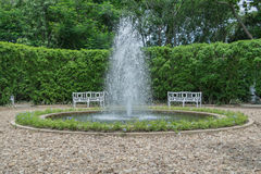 Fontana nel Garden Center Immagine Stock