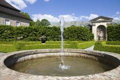 Fontana nel giardino Fotografia Stock