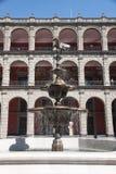 Palcio Nacional de Messico - Città del Messico Fotografia Stock Libera da Diritti