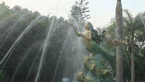 Fontana nel parco video d archivio