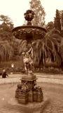 Fontana nel parco della città, Soci, Russia dei cupidi Immagini Stock