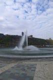 Fontana nel parco di stato del punto Immagini Stock