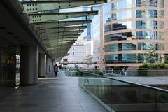 Fontana nell'alta vista del quarto di aumento in Hong Kong centrale Fotografia Stock Libera da Diritti