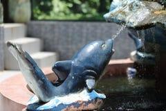 Fontana nello zoo di Saigon ed in giardino botanico Fotografie Stock