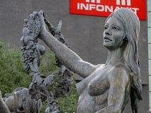 Fontana a Nettuno fotografia stock