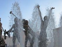 Fontana a Nettuno fotografia stock libera da diritti