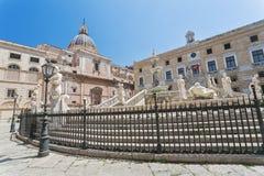 fontana palermo pretoria стоковое фото