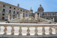 fontana palermo pretoria стоковые изображения
